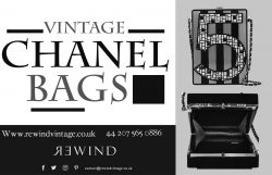 Authentic vintage chanel bags At Rewind Vintage Affairs