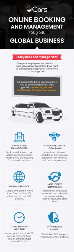 Choose Cars to Easily Book & Manage Rides for Corporate Travel