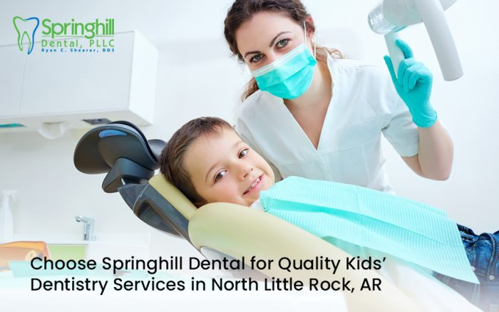 Choose Springhill Dental for Quality Kids' Dentistry Services in North Little Rock, AR