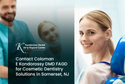 Contact Coloman E Kondorossy DMD FAGD for Cosmetic Dentistry Solutions in Somerset, NJ