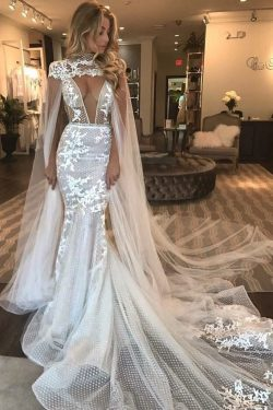 2019 Charming Wedding Dresses Straps Tulle With Applique