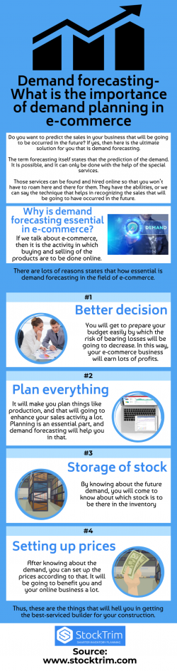 Demand forecasting-Benefits for the growth of your business