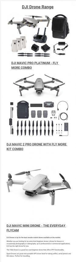 DJI Drone Range