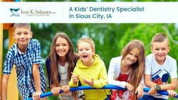 Dr. Ivan K. Salmons, DDS – A Kids' Dentistry Specialist in Sioux City, IA