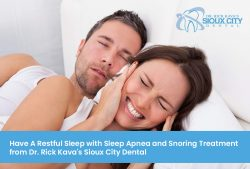Have A Restful Sleep With Sleep Apnea And Snoring Treatment From Dr. Rick Kava's Sioux Cit ...