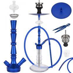 Shisha Smoking Water Pipe Hookah Dark Blue