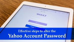 Effective steps to alter the Yahoo account password