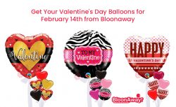 Get Your Valentine's Day Balloons for February 14th from Bloonaway