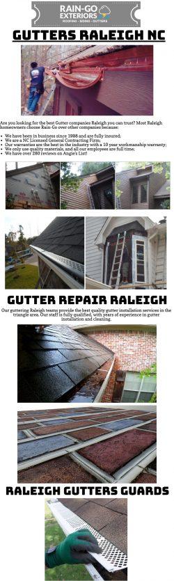 Best Gutter companies Raleigh