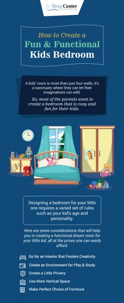 How to Create a Fun & Functional Kids Bedroom