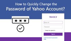 How to Quickly Change the Password of Yahoo Account?