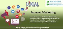 Internet Marketing in Boca Raton | Local Management