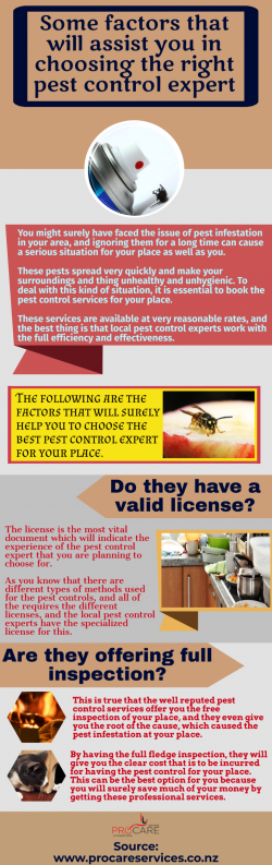 Local pest control experts have the use of most advanced techniques for providing you the qualit ...