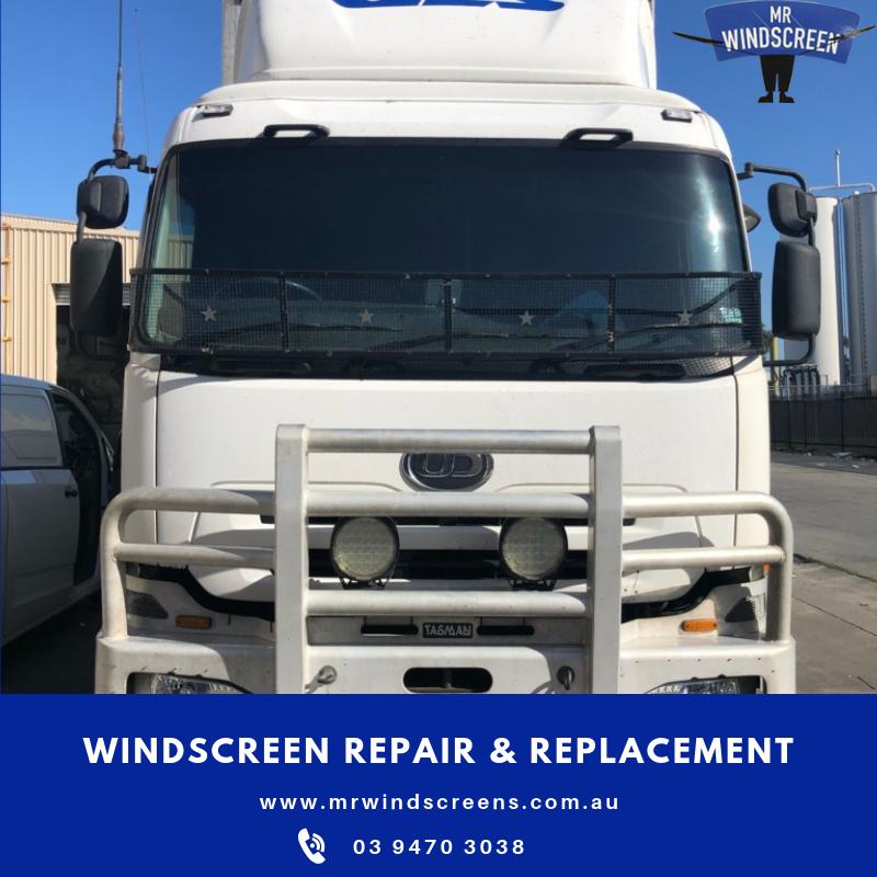 Truck windscreen replacement Melbourne