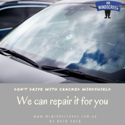 windscreen chip repair Melbourne
