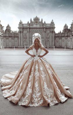 Luxus Brautkleider Prinzessin | Hochzeitskleider mit Spitze Online
