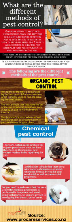 Best features of the pest control services as they offer the different packages