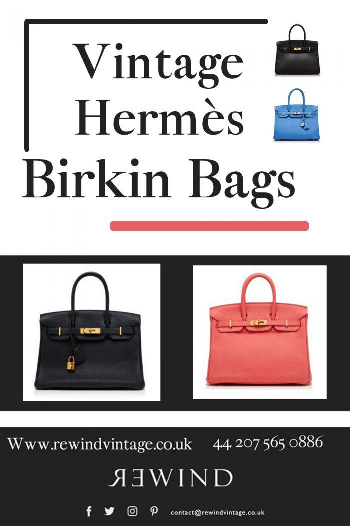 Vintage Hermès Birkin Bags
