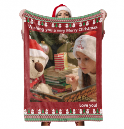 Christmas Photot Blanket