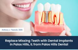 Replace Missing Teeth with Dental Implants in Palos Hills, IL from Palos Hills Dental