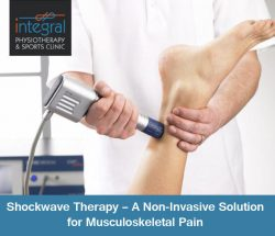 Shockwave Therapy – A Non-Invasive Solution for Musculoskeletal Pain