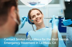 Contact Smiles of La Mesa for the Best Dental Emergency Treatment in La Mesa, CA