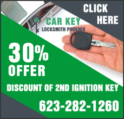 Car Key Locksmith Phoenix | (623) 282-1260