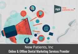 New Patients, Inc. – Online & Offline Dental Marketing Services Provider