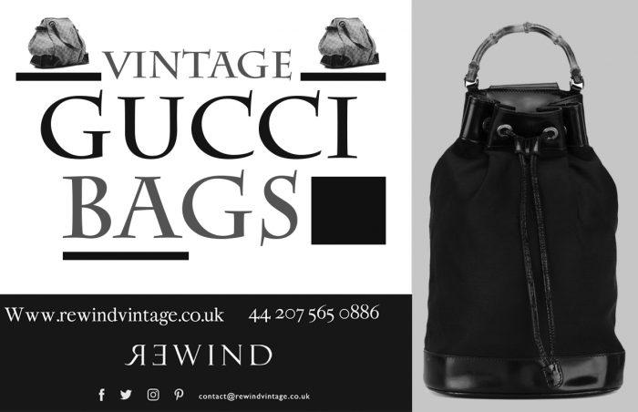 Vintage Gucci Bags At Rewind Vintage Affairs