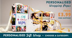 Your Own Printed Wrapping Paper from £3.99