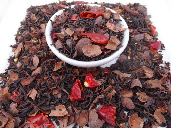 Hot Chilli Chocolate Tea