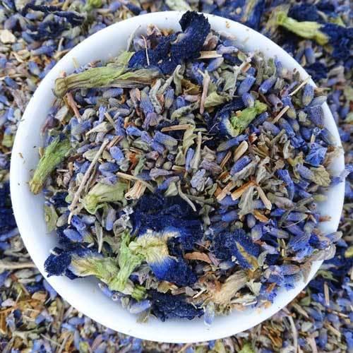 Relaxing Lavender Blue Tea