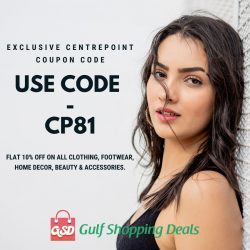 Centrepoint Coupon Code, Centrepoint Promo Code & Offers 2020