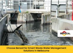 Choose Benzoil for Smart Waste Water Management Solutions in Melbourne