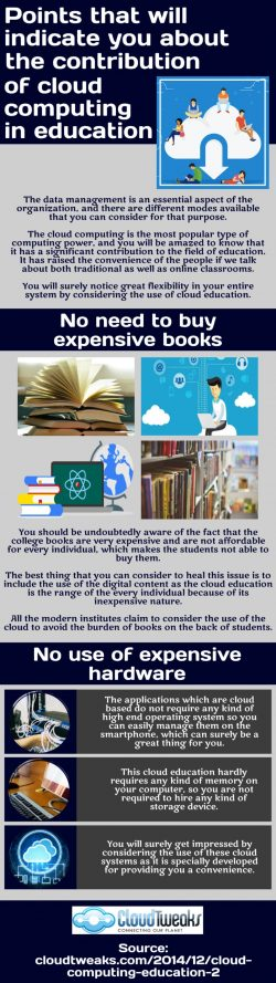 How can cloud education help in enhancing the accountability