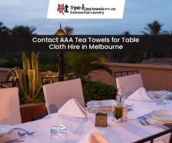 Contact AAA Tea Towels for Table Cloth Hire in Melbourne