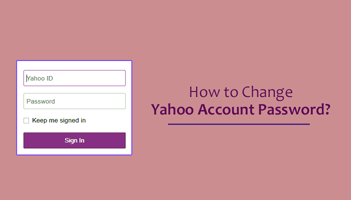 How to Change Yahoo Account Password?