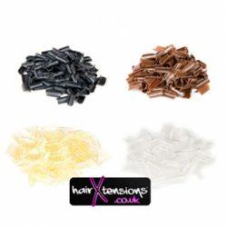 KERATIN WHITE / CLEAR REBONDS (APPROX 100)