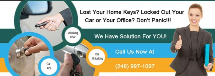 Lockout Locksmith Madison Heights MI