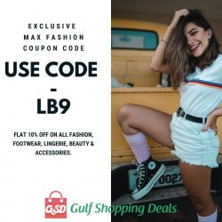 Max Fashion Coupons, Discount Codes & Promo Offers