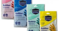 Safe Cleaning With Ramon Proguard Colour Coded Rubber Gloves