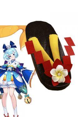 蛍草(ほたるぐさ)コス靴