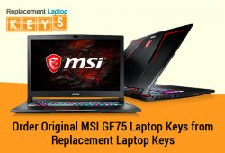 Order Original MSI GF75 Laptop Keys from Replacement Laptop Keys