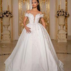 Elegante Hochzeitskleider Prinzessin | Brautmoden Mit Ärmel