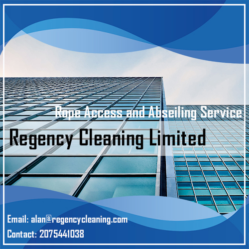 Regency Cleaning Abseiling Services in London