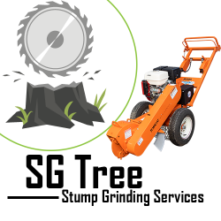 SG Tree Stump Grinding Services