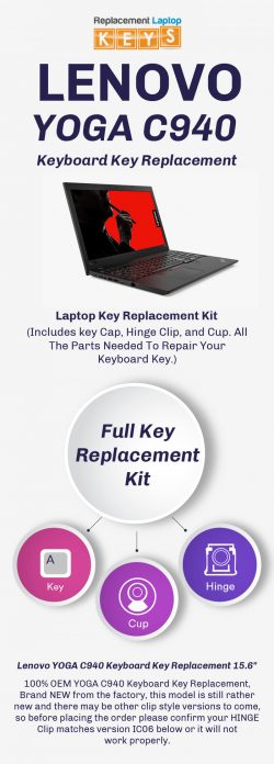 Shop 100% OEM Lenovo YOGA C940 Laptop Keys from Replacement Laptop Keys