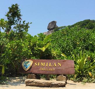 Similan Islands of Thailand National Park