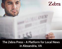 The Zebra Press – A Platform for Local News in Alexandria, VA