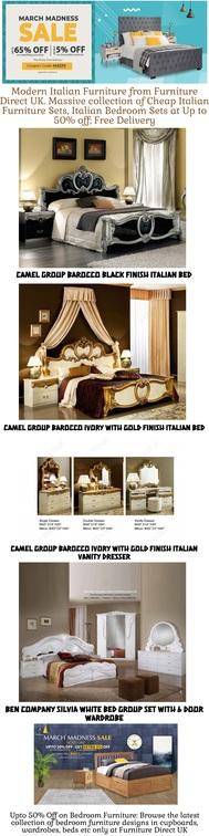 50% Discount Bedroom Furniture